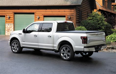 2016 Ford F150 Limited Loads Up On Luxury And Tech