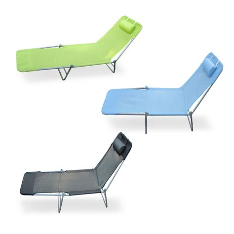 sun chaise lounge chairs outdoor folding reclining sun patio chaise lounge chair pool lawn lounger ebay