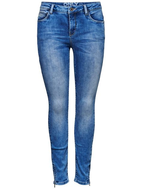 Only Damen Jeans Onlkendell  Skinny Fit  Blau Light