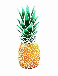 Pineapple Illustration by marieluney on Etsy, $20.00 ...