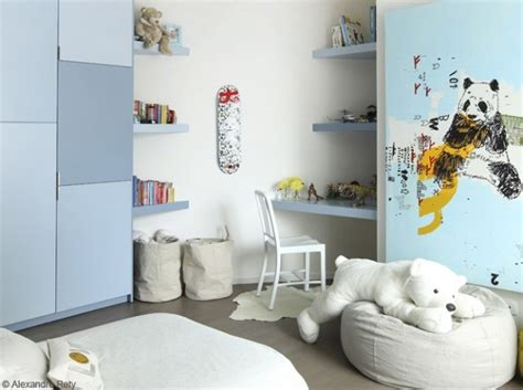 modele chambre garcon modèle idée déco chambre garçon bleu