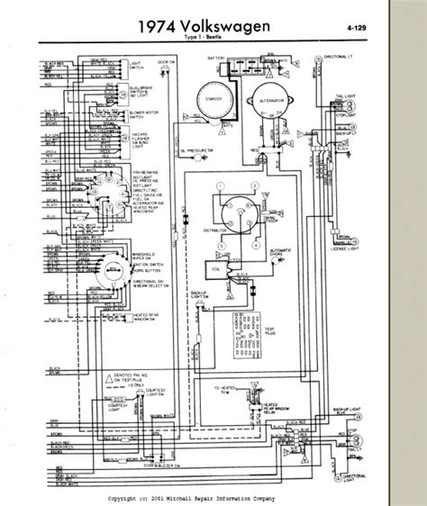 74 vw beetle wiring diagram 27 wiring diagram images