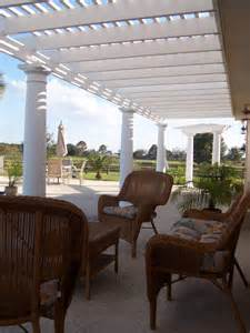 Pergola Outdoor Living Room Designs