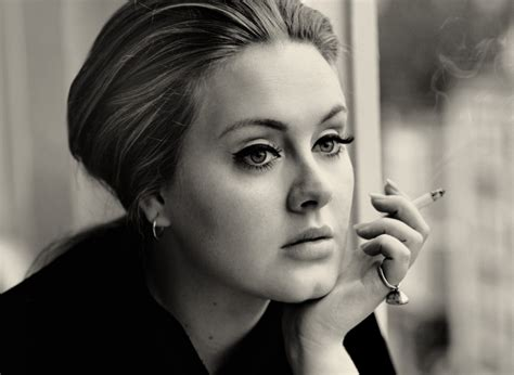 Adele says giving up smoking has actually made her voice ...