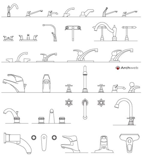 rubinetto dwg rubinetteria per bagni dwg