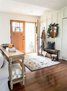 How, To, Style, A, Small, Foyer, With, A, Narrow, Entryway, Bench