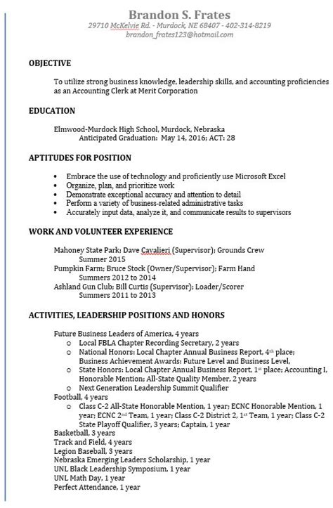 Resume Components by Resume Components Order