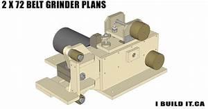2 x 72 Belt Grinder Plans - Plans - IBUILDIT CA