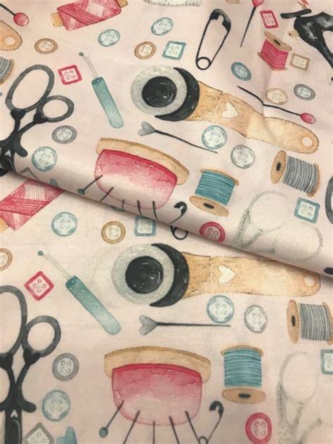 TD20 Tecido digital love costura no Elo7   Pannobom (104923A)