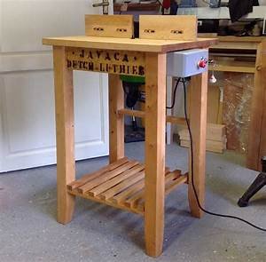 Homemade Router Table Stand Designer Tables Reference