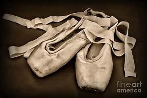 Dancer - Ballerina Shoes - Black And White Photograph by ...