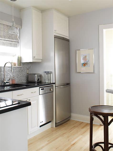 white cabinets gray walls gray kitchen contemporary kitchen aidan design