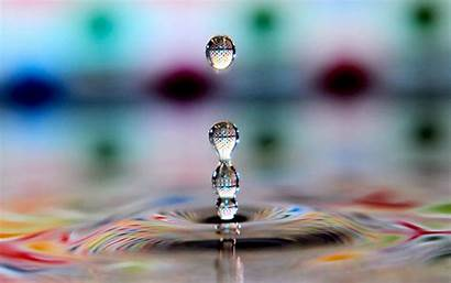Water Drops Wallpapers Colorful Cool Nice Drop
