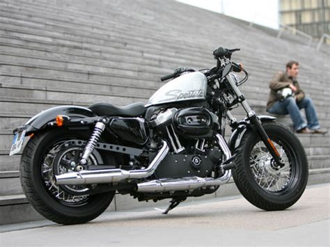 Harley Davidson Forty Eight Modification by Harley Davidson Forty Eight Wheels Route