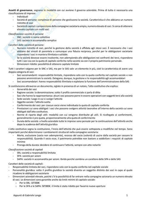 ragioneria dispense concetti esame appunti di ragioneria applicata