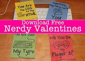 Skip the expensive cards and print your own Valentines ...