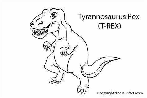 Tyrannosaurus Rex Coloring Pages Meningrey