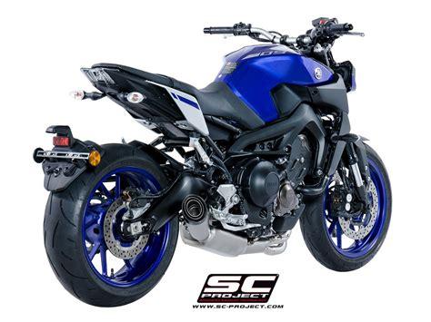 SC-Project Shop Yamaha - MT-09 '17-18 - Full system 3-1 ...