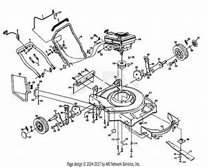 Poulan Pp750pa Mower Parts Diagram For Mower Housing