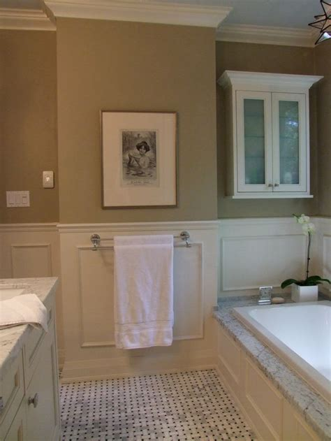bathroom trim ideas 圖像詳細資料chimney wall was clad in drywall and surface applied panel moulding interior
