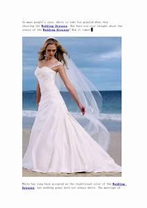 History of white wedding dresses for Origin of white wedding dress