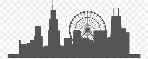 library  chicago png royalty  skyline png files clipart art