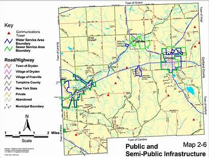 Dryden Sewer Infrastructure Water Maps Town Whole