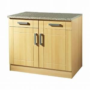 Unterschrank Küche 100 Cm : k chen unterschrank varel 2 t rig 100 cm breit buche k che k chen unterschr nke ~ Bigdaddyawards.com Haus und Dekorationen