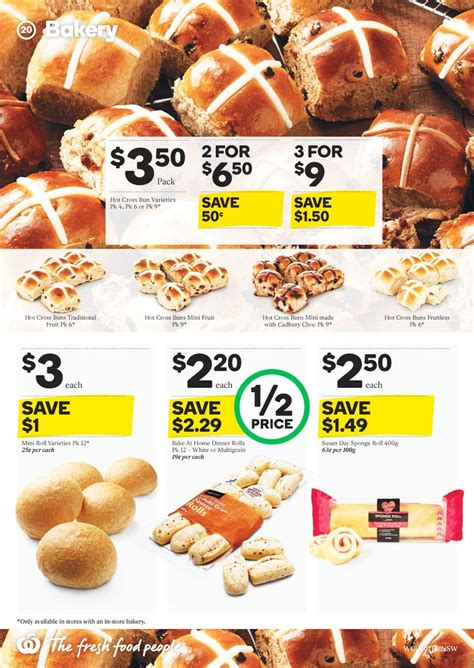 woolworths bakery catalogue jan