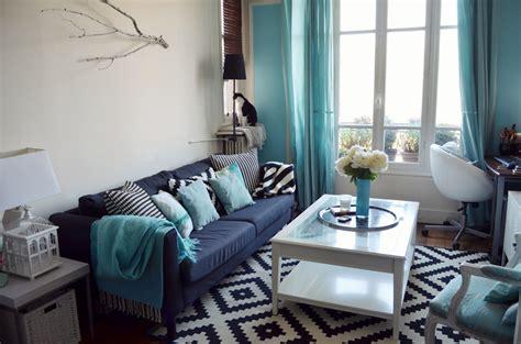 chambre turquoise et noir salon noir et blanc deco chaios com