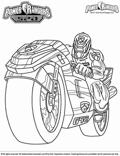 Rangers Power Coloring Pages Colouring Sheet Ninja
