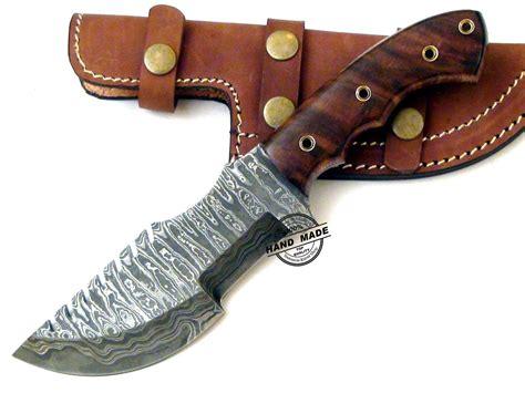 boker kitchen knives damascus tracker knife custom handmade damascus steel knife