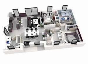 Plan 3d En Ligne : un plan maison 3d gratuit en ligne l 39 impression 3d ~ Dailycaller-alerts.com Idées de Décoration