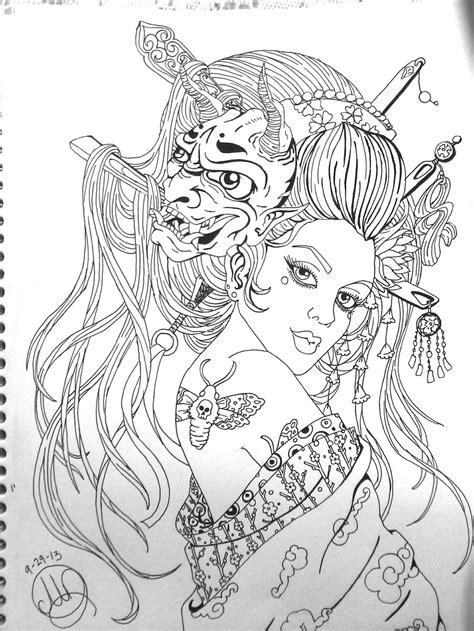 Geisha by Pin-updoll on DeviantArt