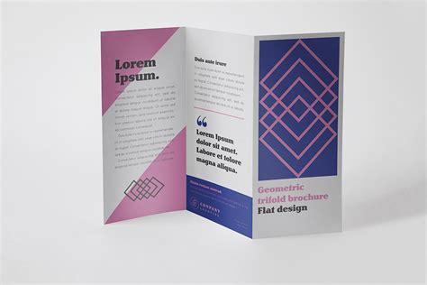 Free 4 Panel Fold Brochure Mockup Psd Mockups Free Trifold Brochure Mockup In Psd Designhooks