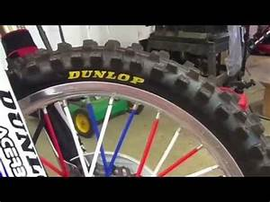 my 2008 yamaha yz250f and how to diy yellow tire letters With dunlop motocross tires with yellow lettering