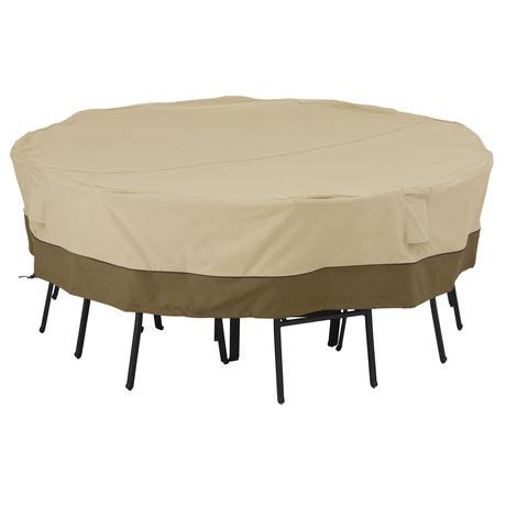 veranda patio furniture covers walmart classic accessories veranda table and chair cover fits 8