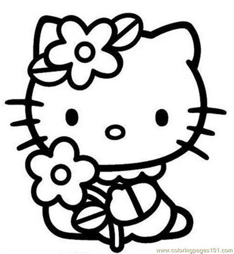 hello kitty coloring pages Coloring Pages Hello Kitty2