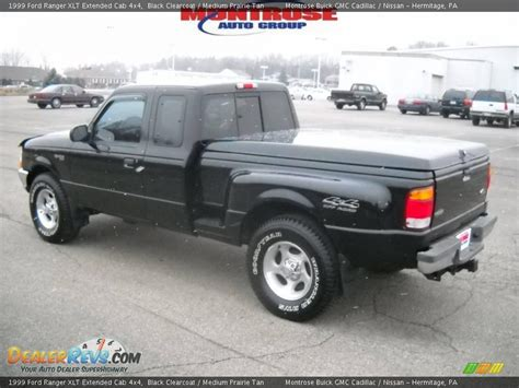 1999 ford ranger xlt extended cab 4x4 black clearcoat medium prairie photo 6 dealerrevs