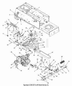 Mtd 13af693g118  2002  Parts Diagram For Drive  U0026 Controls
