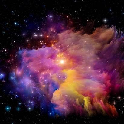 Rainbow Aurora Pattern Space Star Galaxy Wallpapers