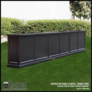 Keswick Rectangular Planter Box, Commercial & Patio Garden ...