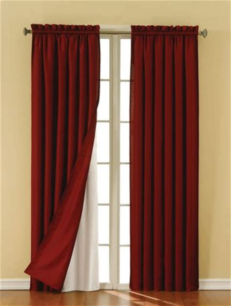 Walmart Eclipse Curtains White by Eclipse Suede Thermaback Curtain Panels Walmart Ca