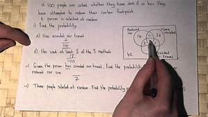 Probability Venn Diagrams And Conditional Probability