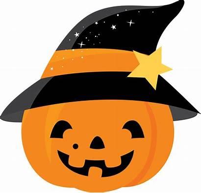 Halloween Clip Pumpkin Clipart Cartoon Bruja Calabaza