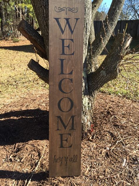 wooden  sign front porch  sign