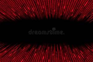 Red Matrix Background Computer Generated Stock ...