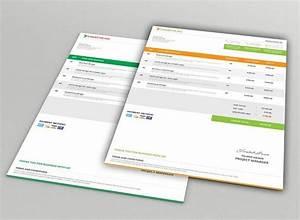 Free modern company invoice mockups psd titanui for Invoice mockup psd free