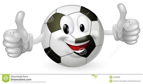 football ball mascot royalty  stock image image
