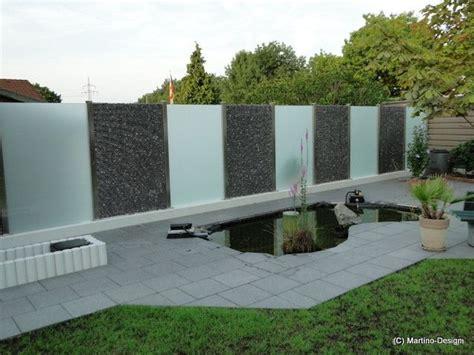 Zaun Aus Glas by Impressionen Exklusiven Sichtschutzelementen In
